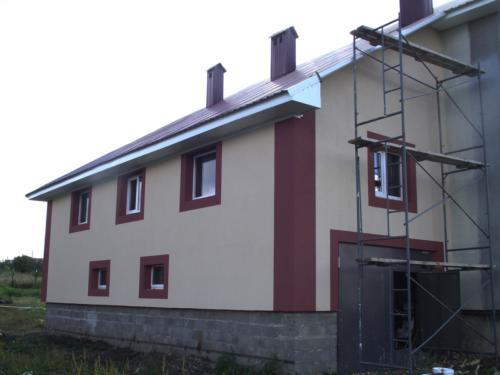 Дома из керамзитоблока