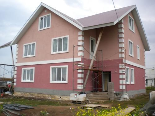 Дом из ячестого бетона